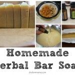 homemade herbal bar soap - using doterra Homemade Bar, Soap Recipes, Cleaning Recipes, Homemade Beauty Products, Cold Process Soap, Handmade Soaps, Diy Soaps, Beauty Recipe, Belleza Natural