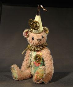 Steampunk Clown Teddy