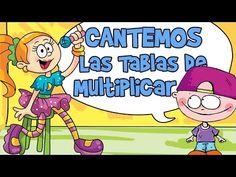 CANCIONES TABLAS DE MULTIPLICAR DEL 1 AL 10 (Aprender Cantando) - YouTube