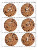 Cookie theme alphabet