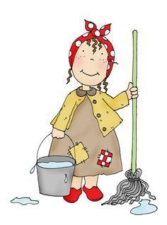 Free Dearie Dolls Digi Stamps: Cleaning Day of Classroom Helpers, Classroom Routines, Classroom Resources, Cleaning Day, Spring Cleaning, Dibujos Cute, Teacher Blogs, Digi Stamps, Rock Art