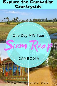 One Day Quad Bike Tour Discovering Siem Reap Cambodia All About Travel Best Travel Guides, Travel Tips, Travel Destinations, Romantic Destinations, Travel Articles, Romantic Getaways, Travel Ideas, Siem Reap, Adventure Tours