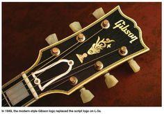 Gibson L5 Headstock