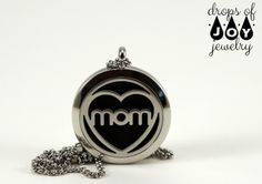 Show your Mom love with the unique gift of aromatherapy jewelry, or wear it yourself with pride for your tribe! Our beautiful 30mm 316L stainless steel diffuser necklace is hypo-allergenic and feature