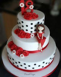 Girl cake #fashion