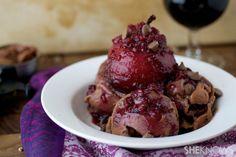 Unique Desserts | unique red wine desserts