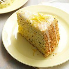 Lemon-Poppy Seed Angel Cake recipe. i'd love this for brunch!