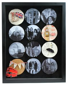 Cheerio, London! Shadow Box #papercrafting #craft