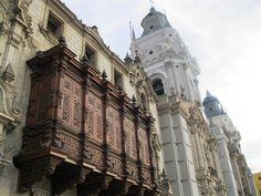 Palacio Arzobispal, Lima, Peru.