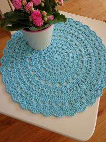 Doilies, Crochet Projects, Crochet Patterns, Crochet Ideas, Projects To Try, Rugs, Knitting, Sewing, Gifts