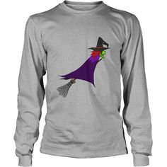 Witch flies on the broom Long Sleeve Shirts  #gift #ideas #Popular #Everything #Videos #Shop #Animals #pets #Architecture #Art #Cars #motorcycles #Celebrities #DIY #crafts #Design #Education #Entertainment #Food #drink #Gardening #Geek #Hair #beauty #Health #fitness #History #Holidays #events #Home decor #Humor #Illustrations #posters #Kids #parenting #Men #Outdoors #Photography #Products #Quotes #Science #nature #Sports #Tattoos #Technology #Travel #Weddings #Women