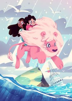 Lion's Ocean by space-kid.deviantart.com on @deviantART Steven Universe: