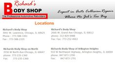 Richards Body Shop on North, Richards Body Shop of Arlington Heights. Arlington Heights, Collision Repair, The Body Shop, Shopping