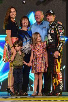 Jeff Gordon and family : Jeff Gordon's final season in NASCAR