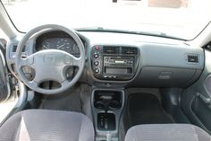 2000 Honda Civic interior