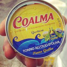 What we do and what we love doing! Coalma #canned #Tuna