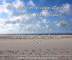 #ViaggioNelleFrasi : Un buon viaggiatore... (Aforismi di Viaggio by Futura)