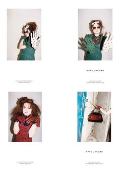 The greatest. (Marc Jacobs F/W 2011 ft Helena Bonham Carter.) #celebrityenvy