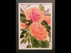Donna Dewberry - YouTube New Rose video.  Not only the cabbage rose, but new techniques for a new look to your rose. www.onestroke.com Limited time offer.  Get 30% off first order when you sign up for the email list.
