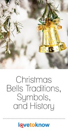 Christmas bells are featured prominently in religious and secular traditions throughout history as symbols used to announce arrivals, events, and other special celebrations. There are several kinds of Christmas bells used during this special holiday and each has a special meaning and history.  #Christmasbells #Christmastraditions #Christmassymbols #Christmashistory Christmas History, Christmas Music, Christmas Bells, Christmas Cards, Christmas Decorations, Table Decorations, Christmas Entertaining, Holiday Parties, Christmas Traditions