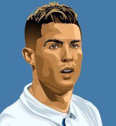 Soccer Art, Football Soccer, Cristiano Ronaldo Cr7, Ronaldo Soccer, Vs The World, Real Madrid, Amazing Crafts, Serendipity, Pencil Art