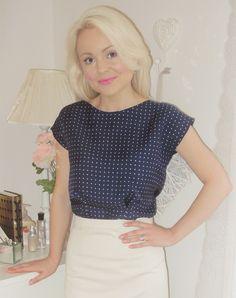 Colette Sencha 2 - great simple blouse for beginner