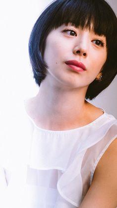 夏帆 Blue Back, Japanese, Actresses, Pretty Girls, Face, People, Model, Sketch, Beauty