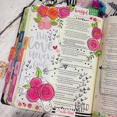 Bible Journaling by @bridgett.brainard