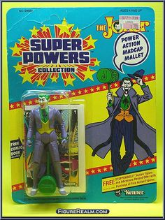 Kenner Super Powers Series 1 The Joker Figure 1984