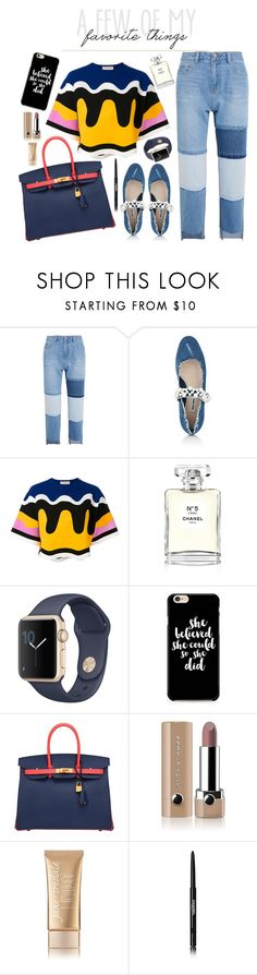 """A Few of My Favorite Things"" by misplacedperfection ❤ liked on Polyvore featuring Steve J & Yoni P, Miu Miu, Emilio Pucci, Chanel, Hermès, Marc Jacobs and Jane Iredale"