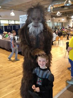 Harry and the hendersons :) cosplay at woscon at weekend