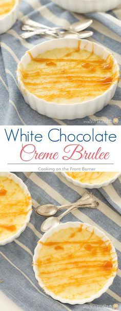 Enjoy your favorite Creme Brulee dessert in a lighter version - so good!