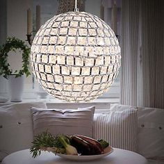 Pendant Lights Crystal Modern/Contemporary Living Room/Bedroom/Dining Room/Kitchen/Study Room/Office/Kids Room Metal – USD $ 279.99