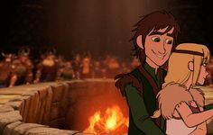 wholockdragons:  amessicle:  Hiccup and Astrid dancing at their wedding (using Stoick and Valka's dance as a reference) :)  YES IT'S BACK! I WILL ALWAYS REBLOG!