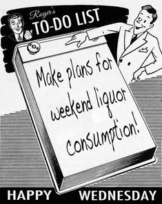 Wednesday Cocktails