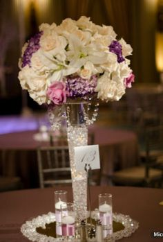 bling centerpieces | Bling bling... Our centerpieces | Wedding Ideas ...