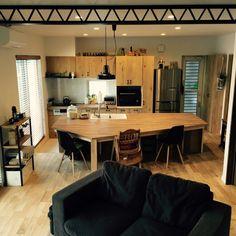 0gat0m0さんの、造作家具フルオーダーの家,新築一戸建て,RC広島支部,いつもいいねやコメありがとうございます,ブログも書いてます(*^^*),MEN's natural*,新タグ,部屋全体,のお部屋写真