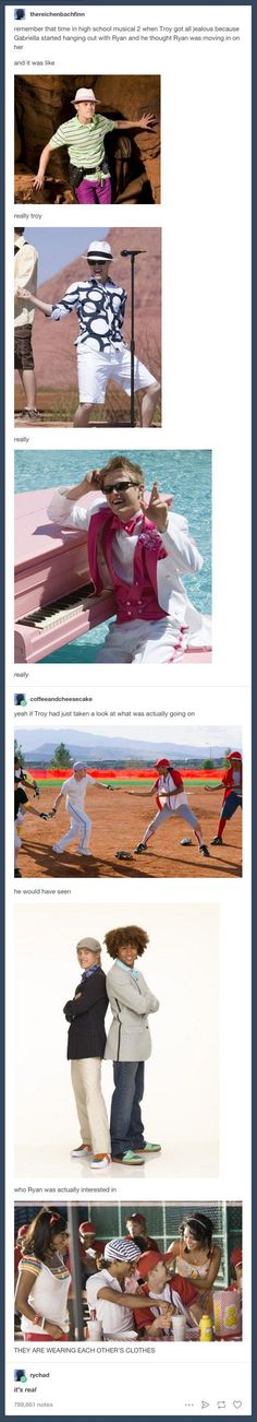 "Team RyChad: | 29 Tumblr Posts Only ""High School Musical"" Fans Will Appreciate"