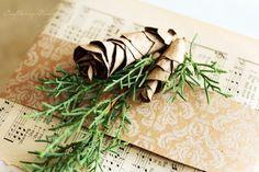 Paper Pine Cone