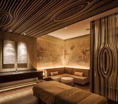 Grand Hyatt Xi'An SPA Room. Interior design by Singapore-headquartered practice LTW Designworks. Singapore Hotel Rooms, Clinic Interior Design, S Spa, Spa Rooms, Grand Hyatt, Spa Design, Interior Lighting, Guest Room, Interior Architecture