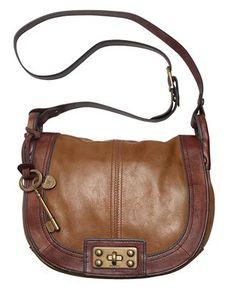 Fossil Handbag, Vintage Reissue Flap Crossbody Bag