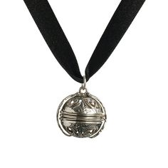 Mary, Queen of Scots Pomander Necklace - Black