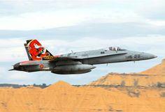 El Ala 15 del Ejército del Aire evalúa la aviónica del EF-18M - Actualidad Aeroespacial - Jueves 3-10-2013