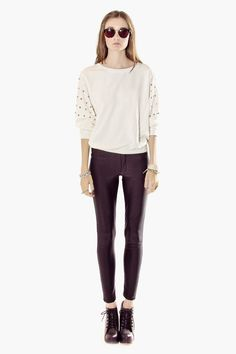 Studded Sweater (The Editor's Market)