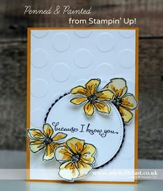 Penned & Painted from Stampin' Up!