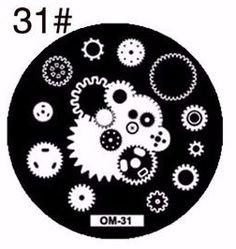 Brand Name: MANZILINTemplate Type: StampingModel Number: metalWeight: cmQuantity: 1 sheetItem Type: Template Nail Art Images, Stamping Plates, Nailart, Creative, Virginia, Om