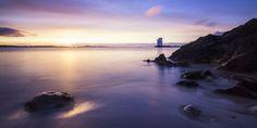 sunrise at the Carraig Fhada lighthouse - null