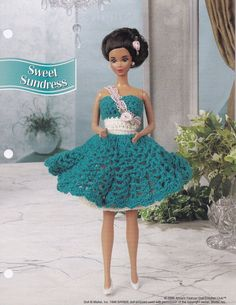 Süßes Sommerkleid Annie der attischen Mode Puppe Kleidung