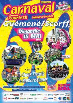 Carnaval Pourleth à Guémené-sur-Scorff #fetebretagne2016