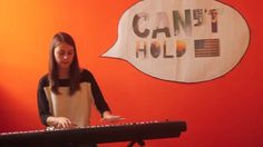 Awesome 2013 hits medley on piano and cups.
